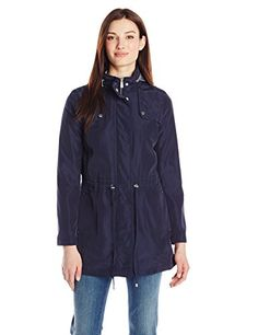 Kenneth Cole Women's Zip Front Anorak with Hood, Midnight, Large Kenneth Cole New York http://www.amazon.com/dp/B00SJKNC5I/ref=cm_sw_r_pi_dp_XsJ8ub0A1JS64