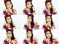funny style to selfie