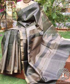 Fine Kosa Tussar Silk Saree