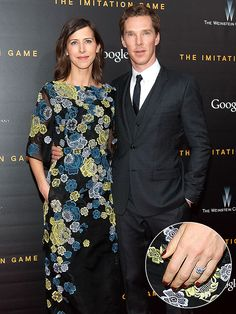 Benedict Cumberbatch and Sophie Hunter Make First Public Appearance Since Engagement -