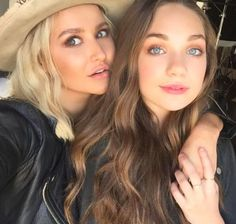 Tonya Brewer and Maddie Ziegler