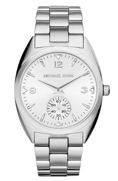 MICHAEL Michael Kors Michael Kors 'Callie' Multifunction Bracelet Watch, 39mm available at #Nordstrom $117