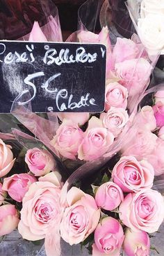 Flowers on the street in #Paris #France