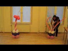 arco de princesa en globos - YouTube