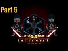 Star Wars The Old Republic Sith Warrior Gameplay Walkthrough Part 4 - Escaping Korriban - YouTube