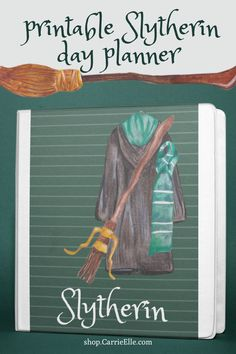 Print your own magical planner with this Slytherin-inspired 8.5x11 printable binder! This binder includes everything from monthly planning to weekly planning to meal planning and everything in between! #slytherin #harrypotter #printableplanner #shopcarrieelle #carrieelleprintable #hogwarts #harrypotterprintable #harrypotterplanner Meal Planning Printable, Printable Planner, Planner Stickers, Harry Potter Planner, Harry Potter Printables, Slytherin, Hogwarts, Kids Interior, Planner Supplies