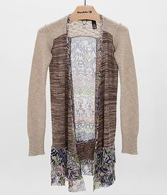 BKE Boutique Pieced Cardigan Sweater at Buckle.com