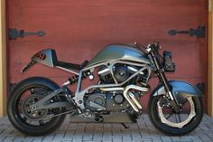 RocketGarage Cafe Racer: Buell Stealth Yes. Buell Motorcycles, Cool Motorcycles, Scooter Motorcycle, Moto Bike, Buell Cafe Racer, Honda, Ride Out, Cafe Bike, American Motorcycles