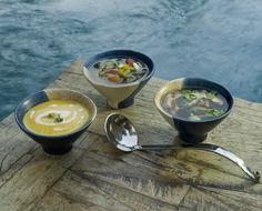 These look like the yummiest soups from some awesome spas!