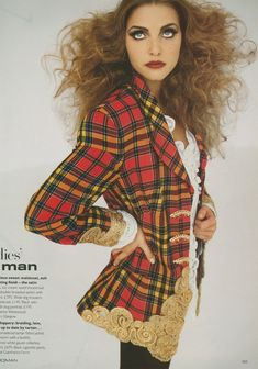 British Vogue August 1992