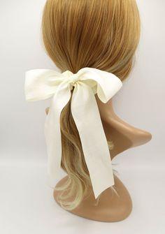 Hair Ribbons, Ribbon Bows, Girl Hair Dos, Shiny Fabric, Fabric Headbands, Hair Accessories For Women, Knot Headband, Hair Ties, Hair Band