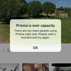#prisma has started acting stupid. I get nothing but this same stupid photo every time. No matter what style I choose. Stupid. #t  #prismalab