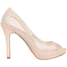 Lauren Lorraine Women's Bernice - Nude - size 5.5 ($100) ❤ liked on Polyvore featuring shoes, pumps, beige, beige shoes, fancy shoes, beige pumps, nude footwear and nude court shoes