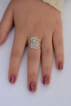 Shema israel ring silver shema israel full by DoronJewelry on Etsy