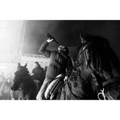 047 Striking high-contrast environmental portrait in black and white. Environmental Portraits, High Contrast, Horses, Mood, Black And White, Photography, Painting, Animals, Art