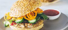 Lentil burgers are a delicious, healthy and satisfying way to enjoy a guilt-free burger at your next barbecue dinner.