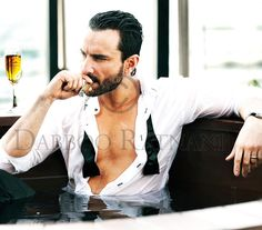 Daboo Ratnani 2011 Calendar, Saif Ali Khan #Bollywood