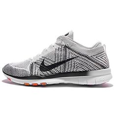 new style 638ab ffa0e Nike Womens Wmns Free Tr Flyknit WHITEBLACKPURE PLATINUMHYPER VOLT 105 US      You can find out more details at the link of the image.