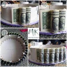 Денежный торт - Оригинальный подарок на любой праздник
