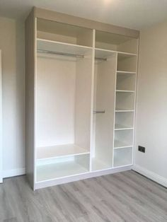 22 Trendy Bedroom Closet Design Built In Wardrobe Sliding Doors Wardrobe Room, Wardrobe Design Bedroom, Master Bedroom Closet, Wardrobe Closet, Wardrobe Storage, Diy Bedroom, Build In Wardrobe, Wardrobe Organisation, Fall Bedroom