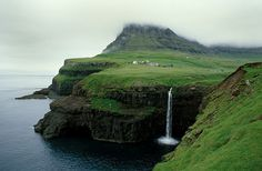 Vagar-Gasadalur Faroe islands