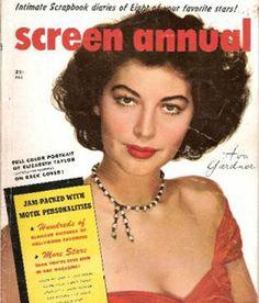 Ava Gardner - Screen Annual - 1952