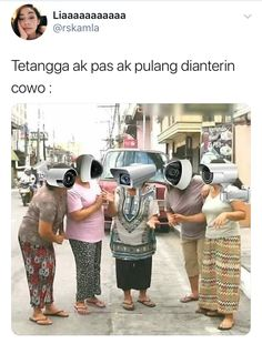 Cctv berjalan Quotes Lucu, Quotes Galau, Jokes Quotes, Qoutes, Funny Quotes, Tweet Quotes, Twitter Quotes, Mood Quotes, Memes Funny Faces
