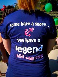 """Bid Day 2011.  """"Some have a story.... We have a legend.""""   Alpha Sigma Tau.  Nautical. Anchors."""