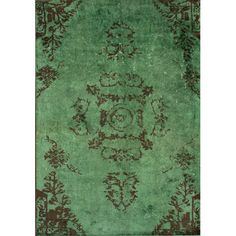 I pinned this Hanima Rug in Green from the Traveler's Treasures event at Joss and Main!