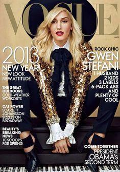 Gwen Stefani Shows Her Inner Bullfighter in Vogue January 2013 Issue #fashion trendhunter.com
