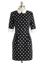 A Lot to Love Dress | Mod Retro Vintage Dresses | ModCloth.com  Collar, cuffs, everything is great.