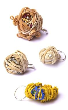 Lana Crabb, rubberband rings