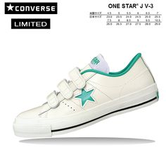 Strap Womens Shoes 3 Velcro Red One Leather White Converse Star hCxtQrds
