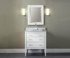 White Bathroom Vanity 30 Inches modern and simple 30 inch white bathroom vanity with drawers