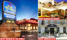 The most-booked hotels in the world have been unveiled by TripAdvisor, with properties in Arizona, London and Dublin topping the charts.