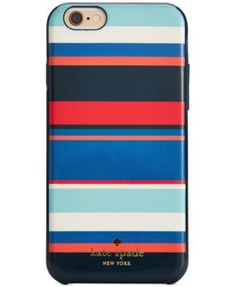 kate spade new york Tropical Stripe iPhone 6 Resin Case