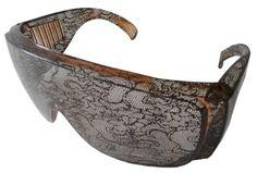 Rihanna Disturbia Designer Inspired Style Big Sunglasses - Overlay with Lace