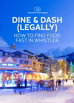 Discover some great grab and go options in Whistler's restaurants and cafes that will satisfy your cravings without eating up your time.