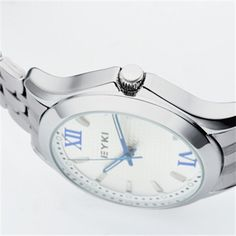 EYKI Stylish Watch With Calendar Stainless Steel -8596 - Free Shipping- - TopBuy.com.au