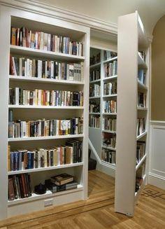 hacer puerta librero - Buscar con Google