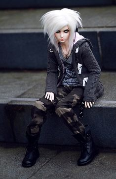 Ball Jointed Resin Boy Doll      #bjd #doll