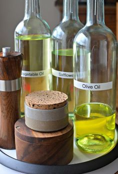 Wine Bottle Oil Dispensers | Family Bites