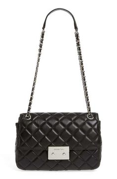MICHAEL Michael Kors 'Large Sloan' Chain Quilted Leather Shoulder Bag