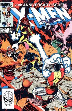 This #XMen 20th Anniversary ish is probably my favorite comic book of them all. The story arc leading to this issue was brill as was the effective use of each character. #stunningstuff @M C