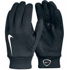 NIKE Hyperwarm Field Players Gloves #NIKE #Hyperwarm #Soccer #Gloves #SoccerSavings.com