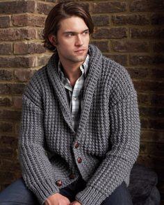 Broken Rib Cardigan | Knitting Fever Yarns & Euro Yarns