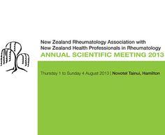 New Zealand Rheumatology Association Annual Scientific Meeting 2013 (NZRA 2013) | MediSitu.Com