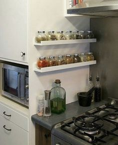 Kitchen Room Design, Home Room Design, Home Decor Kitchen, Kitchen Interior, Home Kitchens, Kitchen Organisation, Home Organization Hacks, Diy Kitchen Storage, Home Decor Furniture