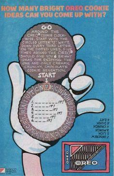 Chris is on Infinite Earths: Action Comics Nabisco Oreo, Oreo Thins, Infinite Earths, Oreo Cookies, Letter Writing, Vintage Recipes, Print Ads, Vintage Ads, Recherche Google