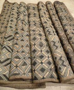 Africa | Kuba Raffia Cloth - Bushoong - Mid 20th century – DR Congo